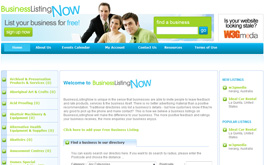 BusinessListingNow online Business listing directory